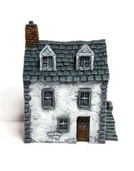 10mm European Townhouse #1 (ready painted)