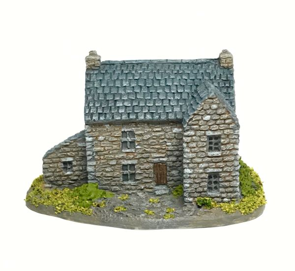 (6mm) Stone House with Annexe (6B043)