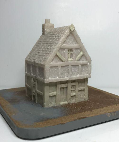 10mm Timber Framed 2-Storey House (#2)