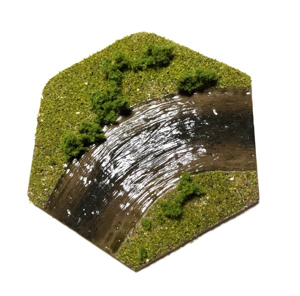 Hex River (curve) Tile Topper
