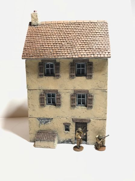 (20mm) Three Storey Rendered House