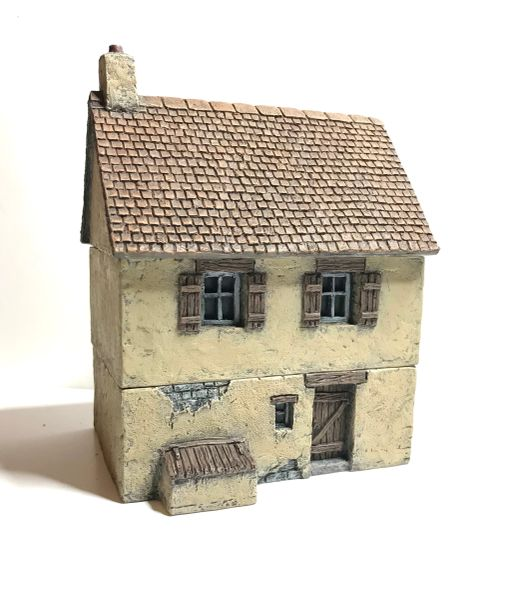 (20mm) Two Storey Rendered House