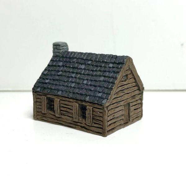 (6mm) READY PAINTED Single Storey Clapboard House
