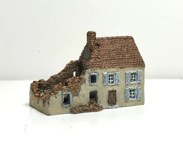 (6mm) READY PAINTED Terrace Ruin