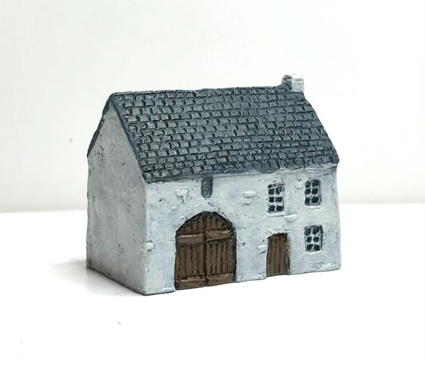 (6mm) READY PAINTED European Rendered Farmhouse