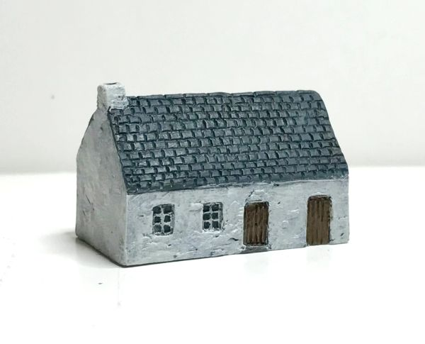 (6mm) READY PAINTED European Rendered Cottage