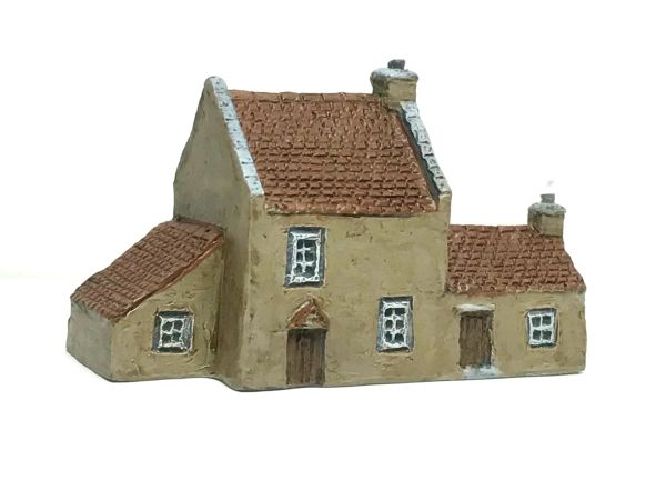 (6mm) READY PAINTED Rural House with annexe