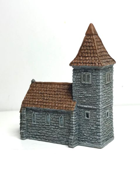 (6mm) READY PAINTED European Church with Spire