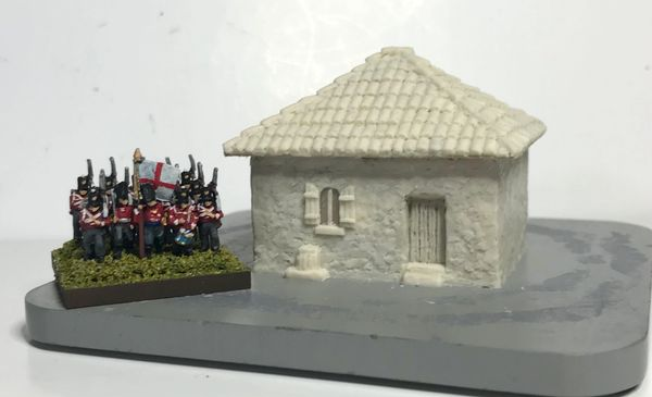 10mm Small Mediterranean House
