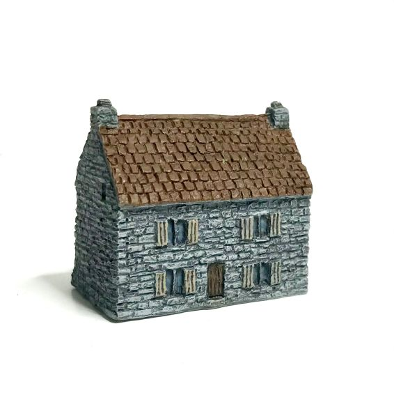 (6mm) READY PAINTED Stone-Built House