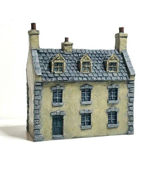 10mm READY PAINTED European Townhouse #3
