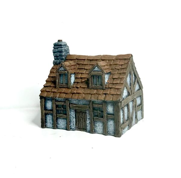 10mm READY PAINTED Timber Framed Cottage