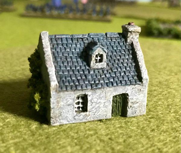 (6mm) Rendered Cottage with Dormer