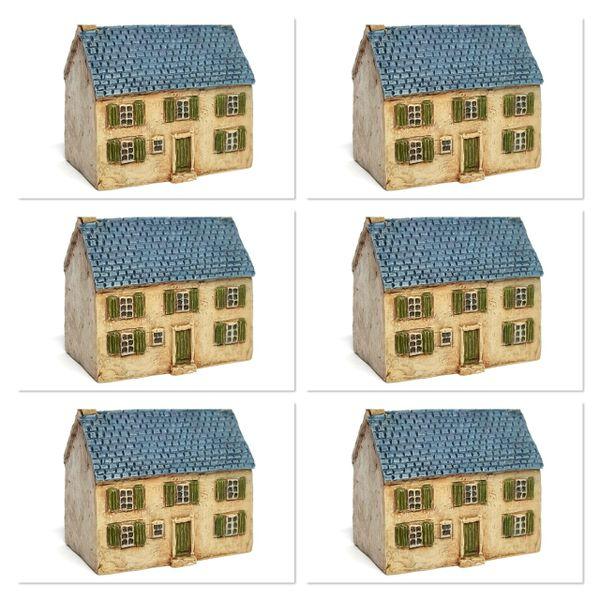 European Townhouse #2 x 6