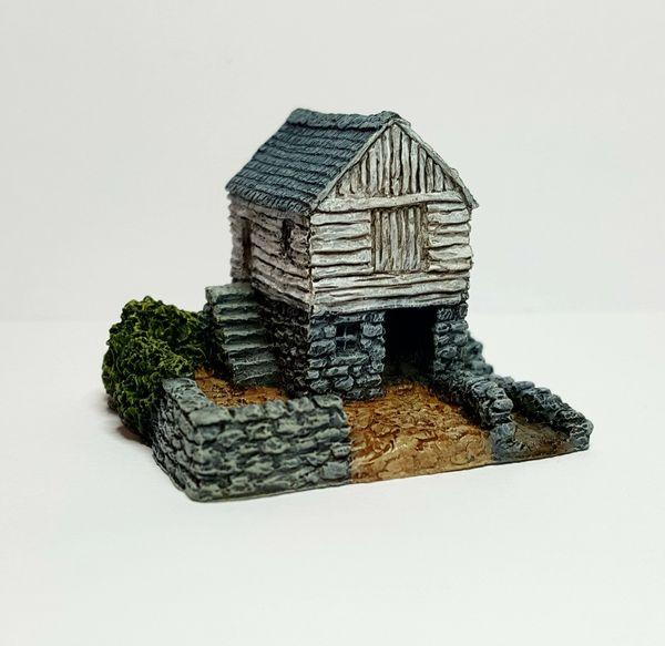(6mm) Small Rural Water Mill (6B013)