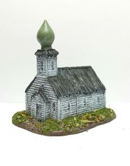 (6mm) Russian Timber Church (6B014)