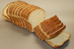 Natural Gluten Free Whole Grain White Bread: Sliced