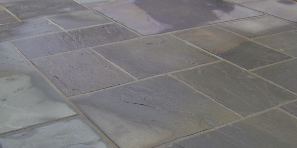 slate paver patio design