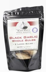 "Black Garlic American Whole Bulb (60 Grams) ""Two Bags"""