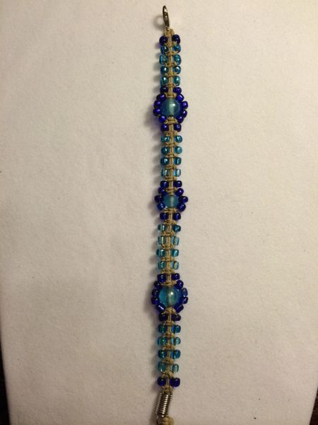 7 inch Bracelet Light and Dark Blue