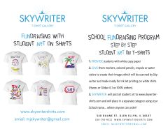 Skywriter Fundraising Brochure