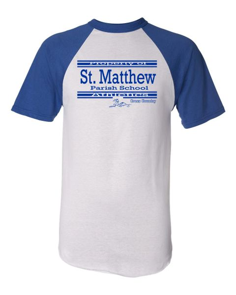 Augusta #423 Short Sleeve (White/Royal) Athletic Jersey