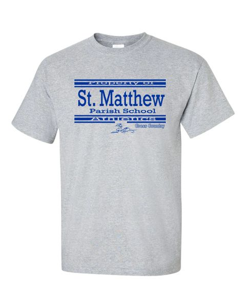 Gildan Ultra Cotton #2000 (Athletic Gray) T-Shirt