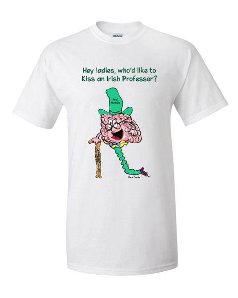 Hey ladies, who'd like to kiss an Irish Professor?