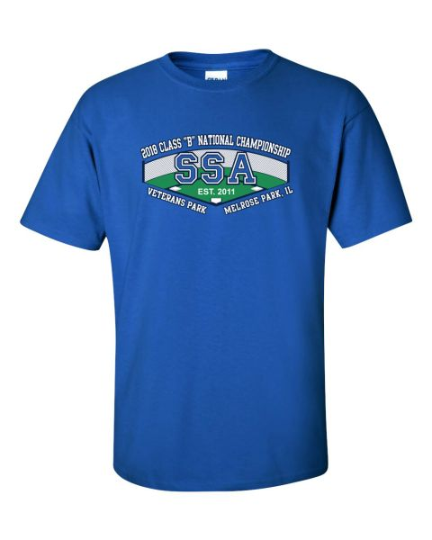 SSA 2018 Class B National Tournament T-Shirts