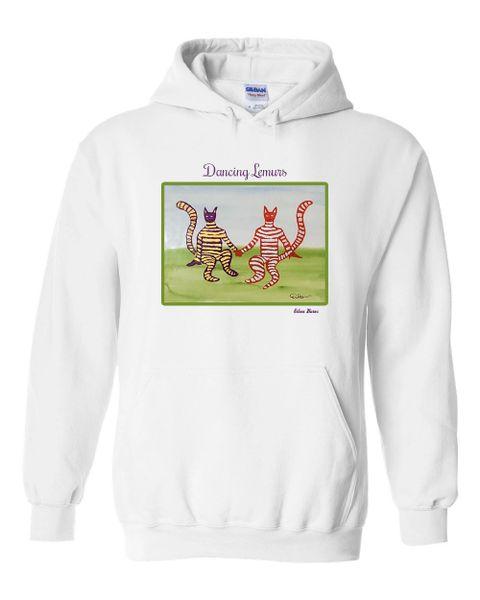 Dancing Lemurs Hoodie