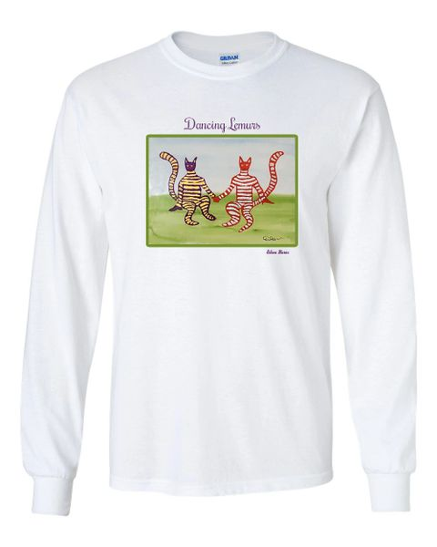 Dancing Lemurs Long Sleeve T-Shirt
