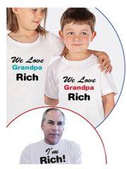 Grandpa/Grandma & Grandkids Shirts
