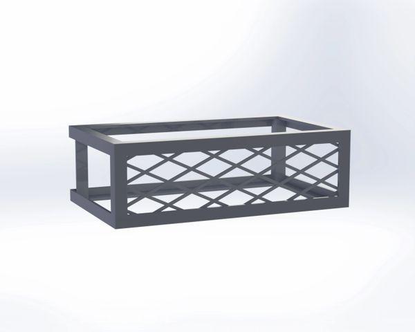 Pavestone® Square Fire Pit Vent - Frameless