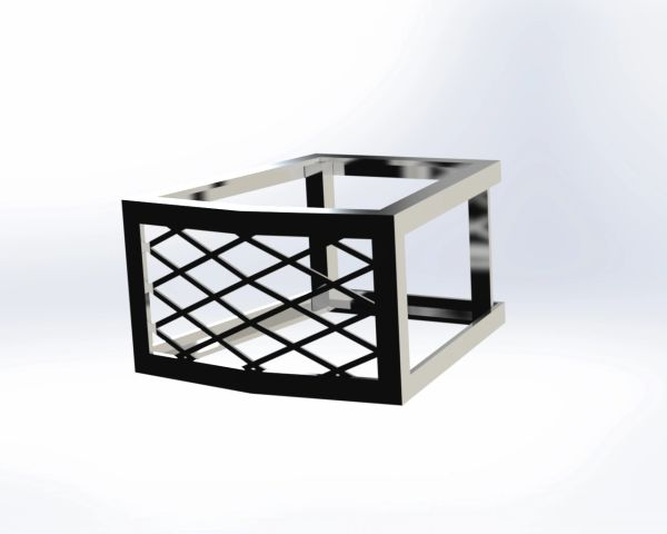 Tremron Munich 30 Fire Pit Vent - Frameless