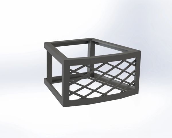 "Belgard® Weston Stone® 8"" Fire Pit Vent - Frameless"