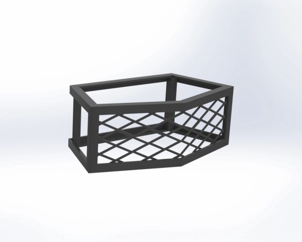 Pavestone® Rockwall® Small Fire Pit Vents - Frameless