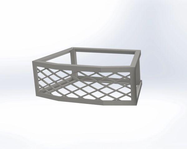 Oberfields® Edington Fire Pit Vents - Frameless