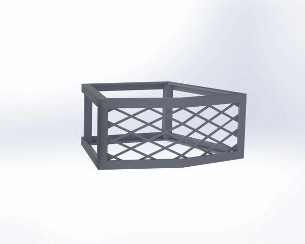 Nicolock® Serafina Wall Fire Pit Vent - Frameless