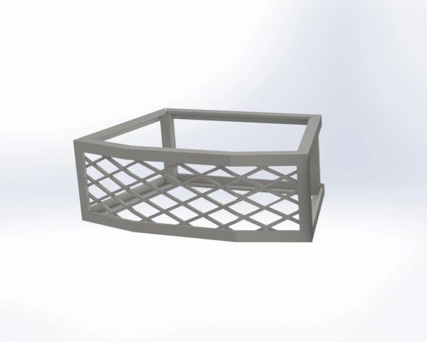 Cambridge® Olde English Fire Pit Vent - Frameless