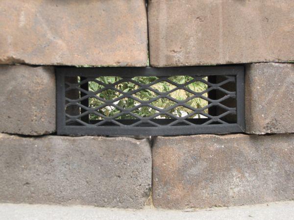 Belgard® Flagstone Fire Pit Vent - Frameless