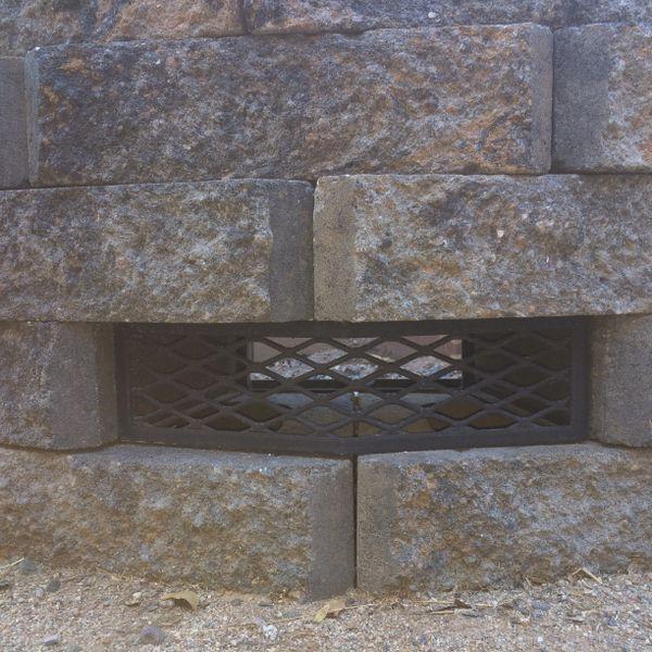Phoenix Paver Mesawall™ Fire Pit Vent - Frameless