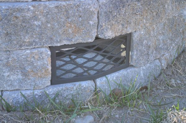 Belgard® Countryside™ Fire Pit Vent - Frameless