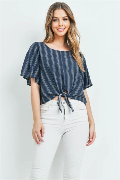 Front Tie Greer Top