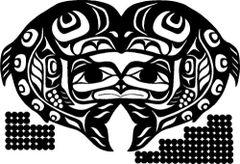 Raven Salmon, Black Batik or Sugarplum Batik Lasercut Applique