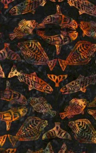 Fish Fabric, Midnight