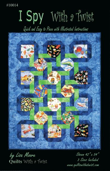 I Spy with a Twist Download Pattern