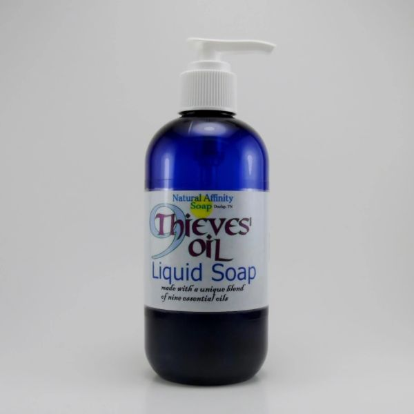Liquid Soap, 9Thieves Oil 8oz
