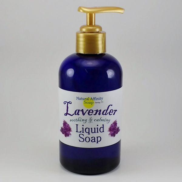 Liquid Soap, Lavender