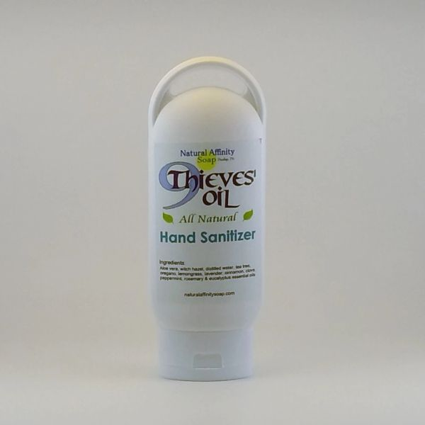 9Thieves' Oil Hand Sanitizer refillable travel-size