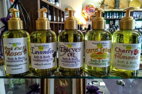 Citrus Splash Bath & Body Oil, 6oz